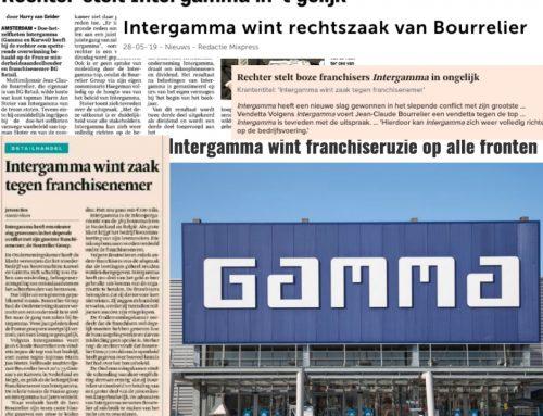 Intergamma in gelijk gesteld in zaak tegen franchisenemer