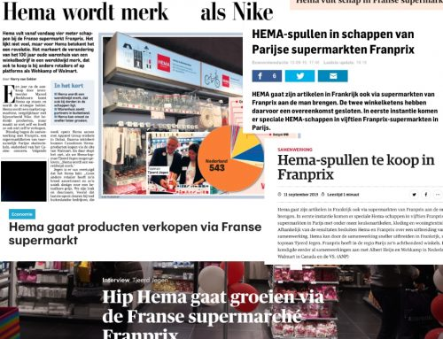 HEMA in supermarkten van Franprix in Frankrijk