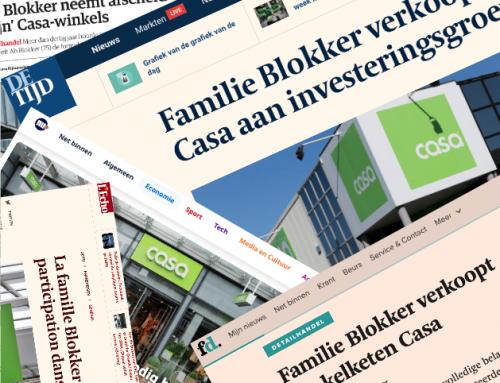 Investeerder Globitas koopt woonketen CASA van familie Blokker
