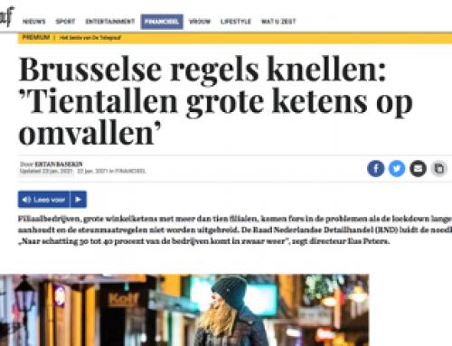 Winkelketens in de knel door corona en Brussel
